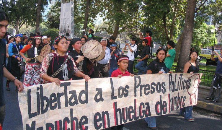 Libertad a los Presos Políticos Mapuche en huelga de hambre