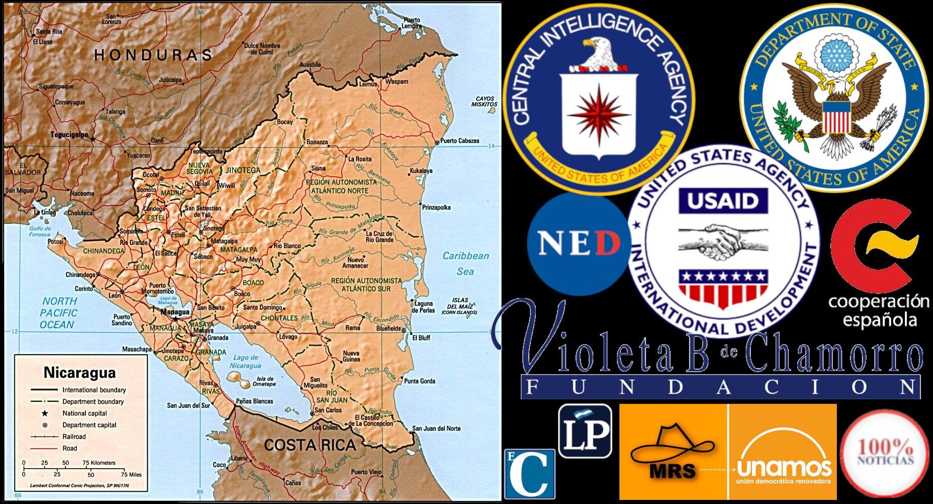 Cómo USAID, fachada de la CIA, creó el aparato mediático anti-sandinista en  Nicaragua». Reportaje de Benjamin Norton de Grayzone sobre el injerencismo  de Estados Unidos – Revista De Frente